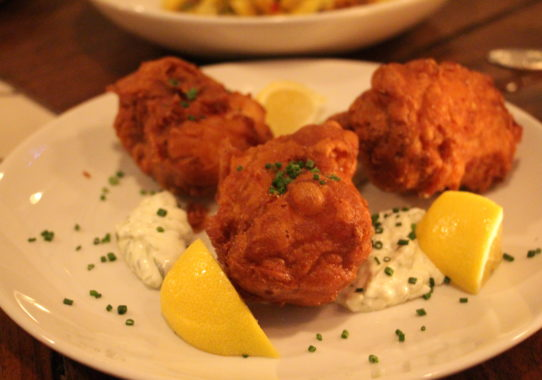 21 greenpoint battered cod