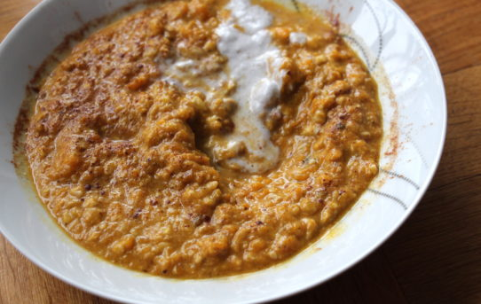 pumpkin nut porridge